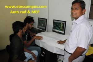 Auto cad course in kandy, eteccampus kandy, etec campus, MEP drafting, Kandy campus