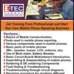 Mobile phone Repairing Course in Kandy, E-tec Campus, eteccampus,etec campus, kandy campus