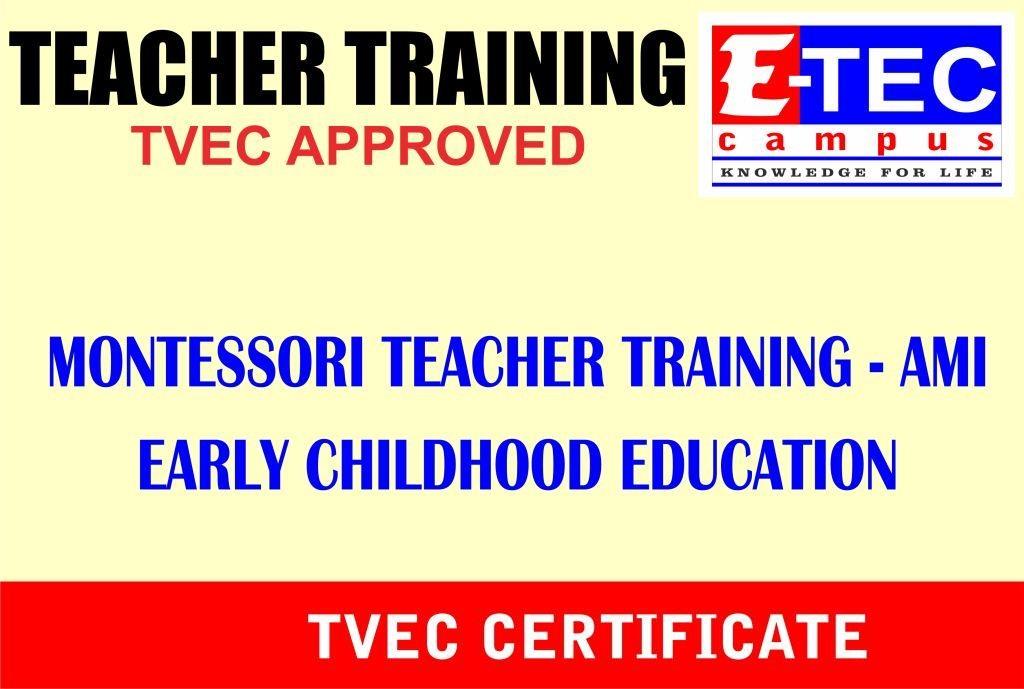 AMI Teacher Training in Kandy
