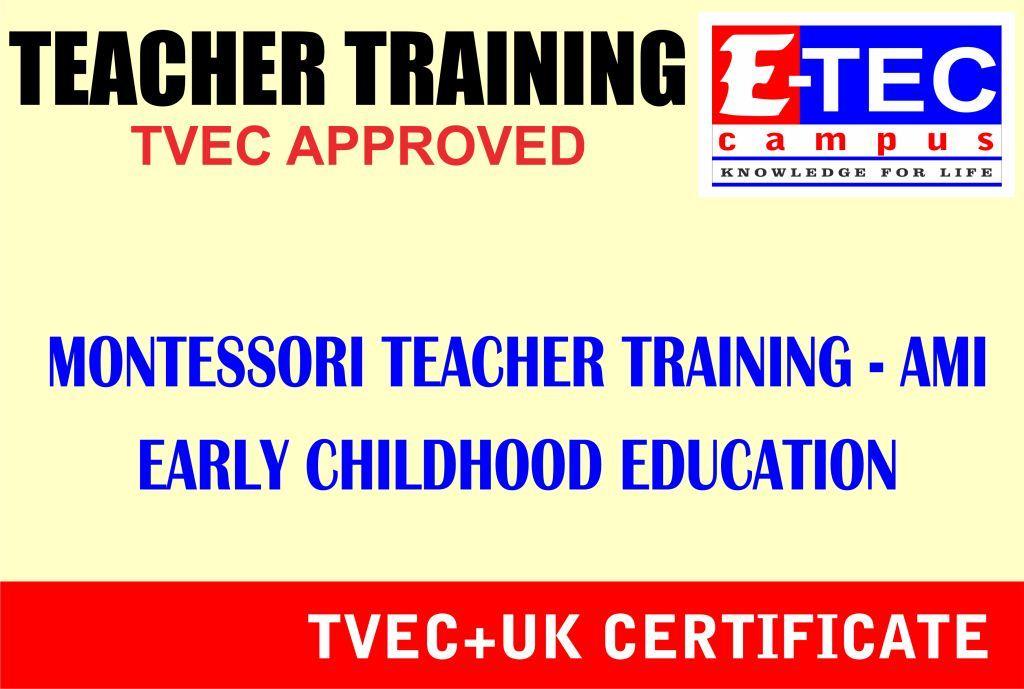Ami Montessori Tefl Teacher Training Ielc Kandy