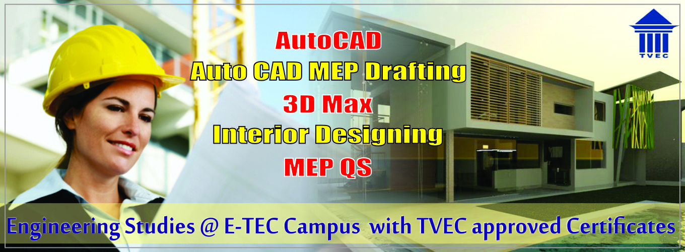 Auto cad course in kandy, eteccampus kandy, etec campus,MEP drafting