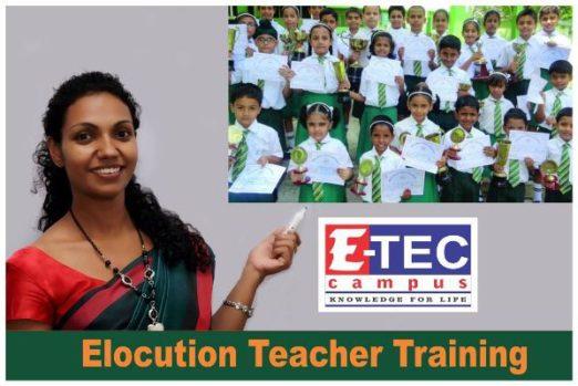 Elocution Teacher Training in kandy,eteccampus,etec campus kandy ,kandy campus,Teacher Training