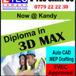 3D max course in kandy, etec campus