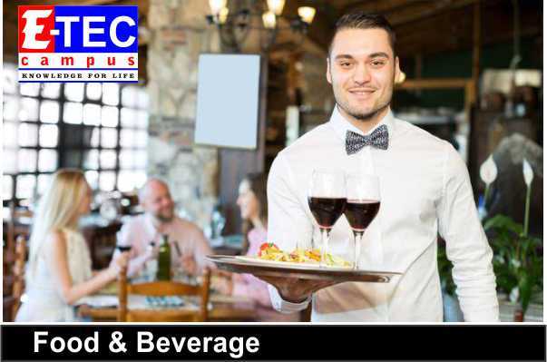 Hotel Management courses in kandy, Hotel Food and Beverage courses in kandy,etec campus,eteccampus