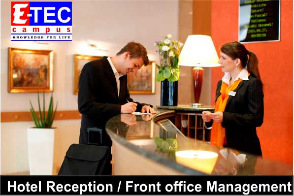 Hotel Management courses in kandy,Hotel Reception courses in kandy,etec campus,eteccampus