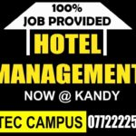 hospitality courses in kandy