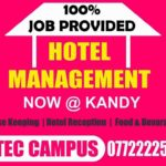 hotel management courses in kandy, hotel courses in kandy,hospitality courses in kandy